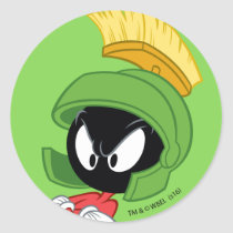 MARVIN THE MARTIAN™ | Arms Crossed Classic Round Sticker