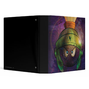 Marvin the Martian Battle Hardened binder
