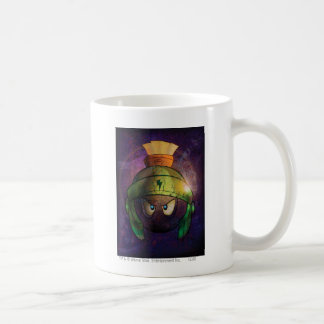 MARVIN THE MARTIAN™ Battle Hardened Classic White Coffee Mug