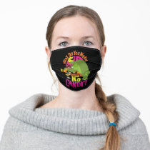 """MARVIN THE MARTIAN™ & BUGS BUNNY™ """"No Candy"""" Adult Cloth Face Mask"""