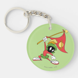 MARVIN THE MARTIAN™ Claiming Planet Keychain