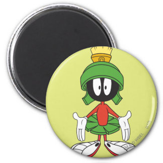 MARVIN THE MARTIAN™ Confused 2 Inch Round Magnet
