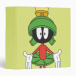 Marvin the Martian Confused 3 Ring Binders