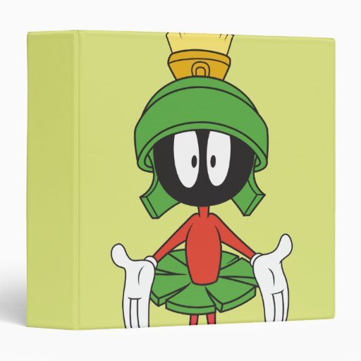 MARVIN THE MARTIAN™ Confused 3 Ring Binders