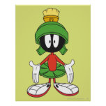 MARVIN THE MARTIAN™ Confused Poster