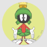 Marvin the Martian Confused Sticker
