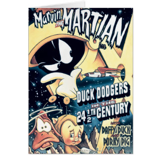 MARVIN THE MARTIAN™, DAFFY DUCK™ and Elmer Card