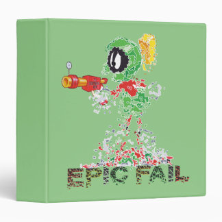 MARVIN THE MARTIAN™ Epic Fail 3 Ring Binder