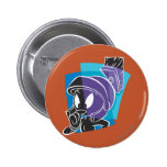 MARVIN THE MARTIAN™ Expressive 20 2 Inch Round Button