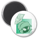 MARVIN THE MARTIAN™ Expressive 23 2 Inch Round Magnet