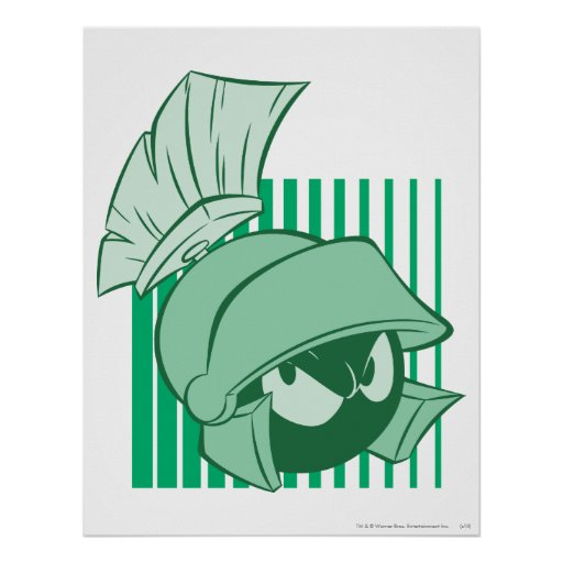 MARVIN THE MARTIAN™ Expressive 23 Poster