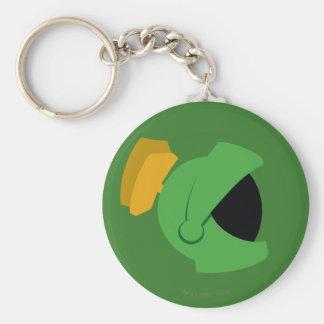 MARVIN THE MARTIAN™ Identity Basic Round Button Keychain
