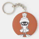 Marvin the Martian Mad at You Keychains