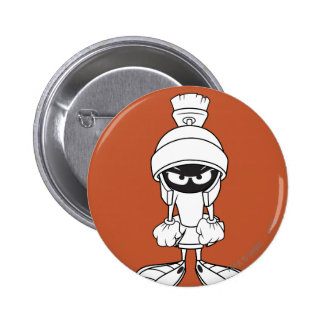 MARVIN THE MARTIAN™ Mad at You Pinback Button