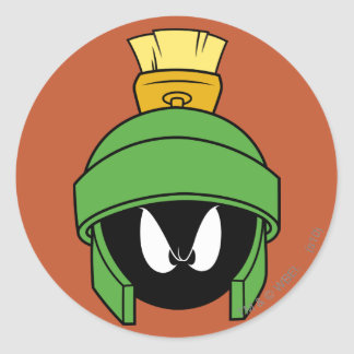 MARVIN THE MARTIAN™ Mad Classic Round Sticker