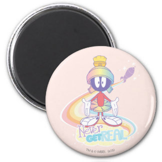 MARVIN THE MARTIAN™ Never Get Real 2 Inch Round Magnet