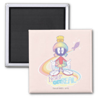 MARVIN THE MARTIAN™ Never Get Real 2 Inch Square Magnet