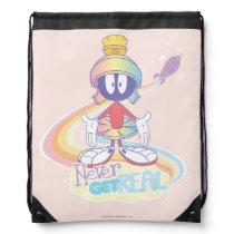 MARVIN THE MARTIAN™ Never Get Real Drawstring Bag