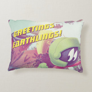 MARVIN THE MARTIAN™ On Vacation Accent Pillow