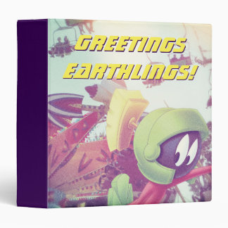 MARVIN THE MARTIAN™ On Vacation Binder
