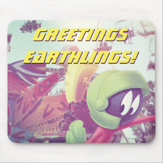 MARVIN THE MARTIAN™ On Vacation Mouse Pad
