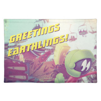 MARVIN THE MARTIAN™ On Vacation Placemat
