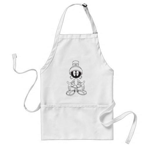 MARVIN THE MARTIAN™ Open Arms Adult Apron