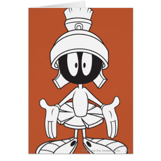 MARVIN THE MARTIAN™ Open Arms Card