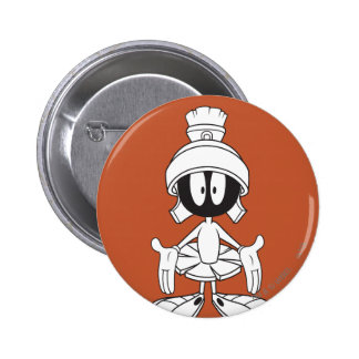 MARVIN THE MARTIAN™ Open Arms Pinback Button