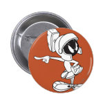 MARVIN THE MARTIAN™ Pointing Pinback Button