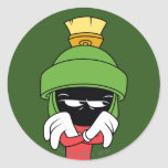 MARVIN THE MARTIAN™ Pout Classic Round Sticker