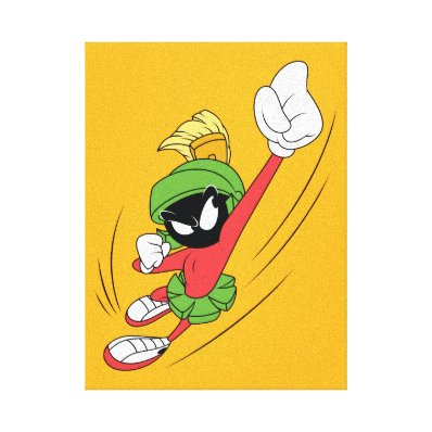 MARVIN THE MARTIAN? Punch Canvas Print