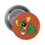 MARVIN THE MARTIAN™ putting star on tree Pin