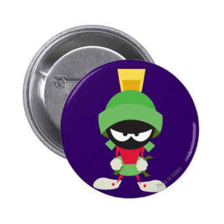 Marvin the Martian Ready to Attack Pins