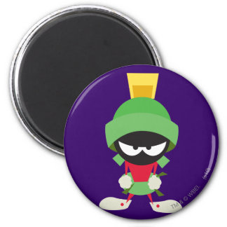 Marvin the Martian Ready to Attack Magnets