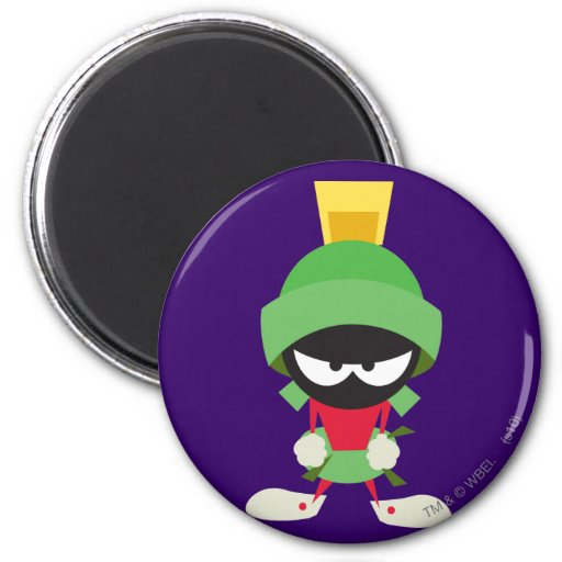 MARVIN THE MARTIAN™ Ready to Attack Magnets