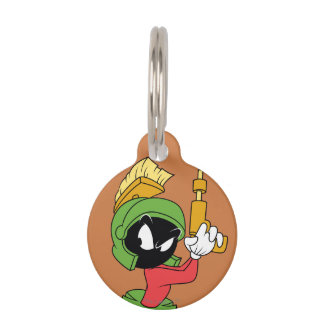 MARVIN THE MARTIAN™ Ready With Laser Pet Name Tag
