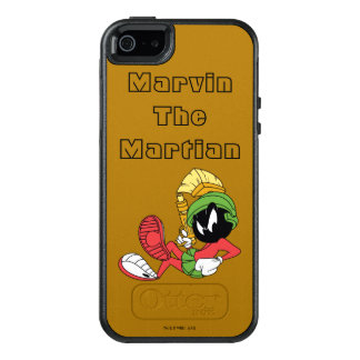MARVIN THE MARTIAN™ Reclining With Laser OtterBox iPhone 5/5s/SE Case