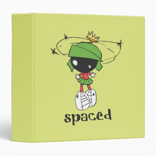 MARVIN THE MARTIAN™ Spaced 3 Ring Binder