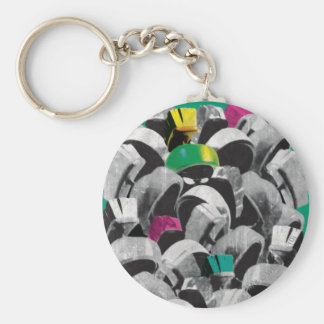 MARVIN THE MARTIAN™ Stacked Keychain