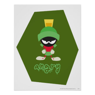 MARVIN THE MARTIAN™ Super Mad Poster