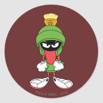MARVIN THE MARTIAN™ Upset Classic Round Sticker