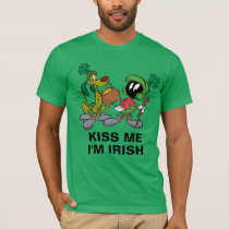 MARVIN THE MARTIAN™ with K-9 | St. Patrick's Day T-Shirt