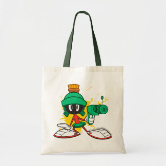 Marvin With Gun Tote Bags