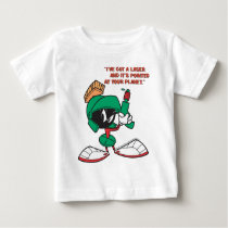 Marvin with Laser Pointed Up Baby T-Shirt
