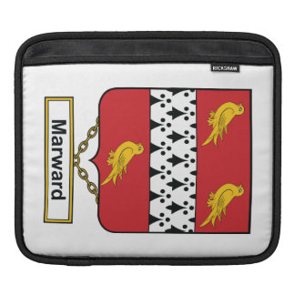 Marward Family Crest iPad Sleeve