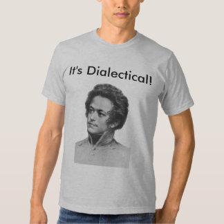 ¡Marx2, es dialéctico! Remeras