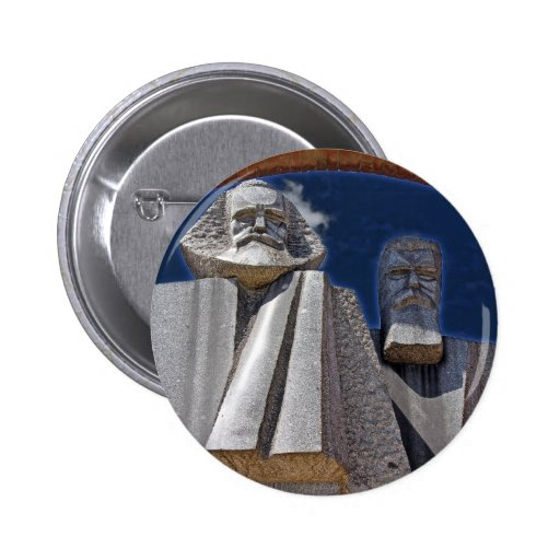 Marx and Engels Buttons