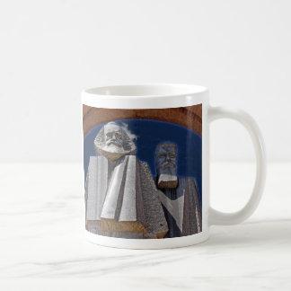 Marx and Engels Classic White Coffee Mug