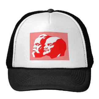 Marx And Lenin Trucker Hat